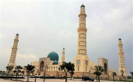 Piling Works Of Sultan Qaboos Mosque At Sohar, Sultantanate Of Oman